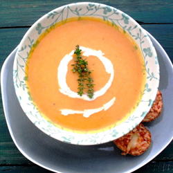 recipes vegetarian soups butternut