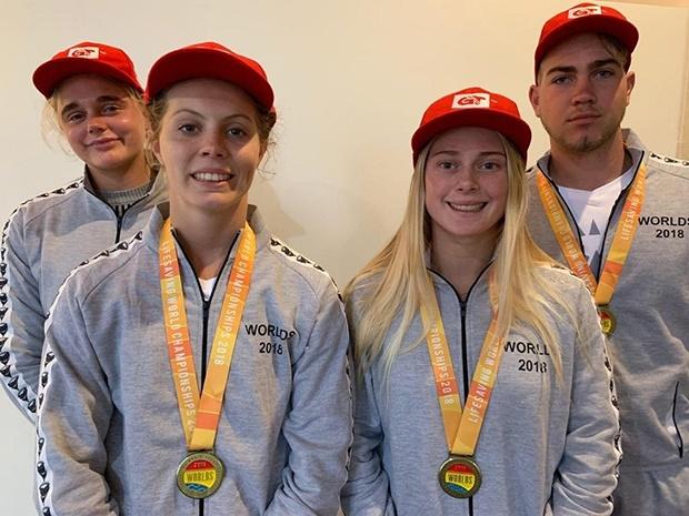 Team SA at Lifesaving World Championships