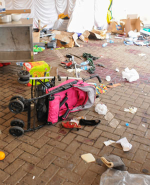 The scene after the Kenya mall attack. (File, AFP)