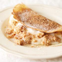 recipes baking pancakes custard