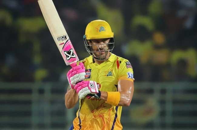 Chennai Super Kings batsman Faf du Plessis (PA)