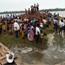 Cyclone Phailin tears through India
