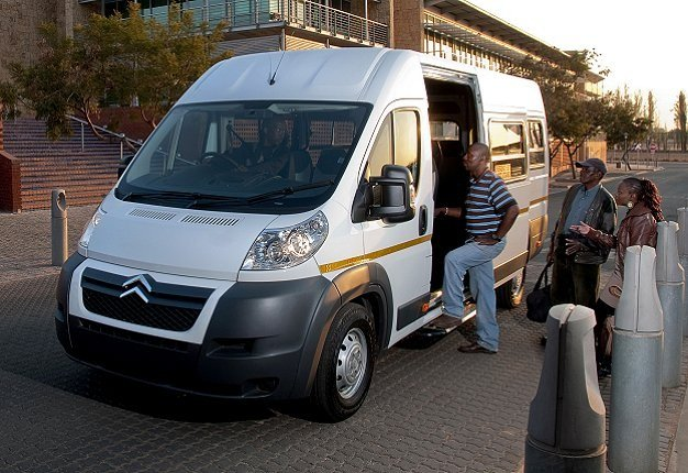 Shared Minibus Taxi in South Africa