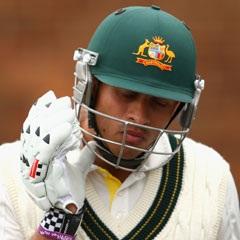 Sport24.co.za | Australië se Harris, Khawaja val te midde van reënval