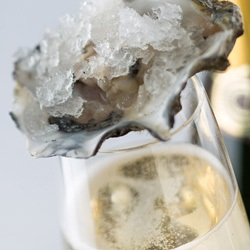 recipes champagne oysters seafood