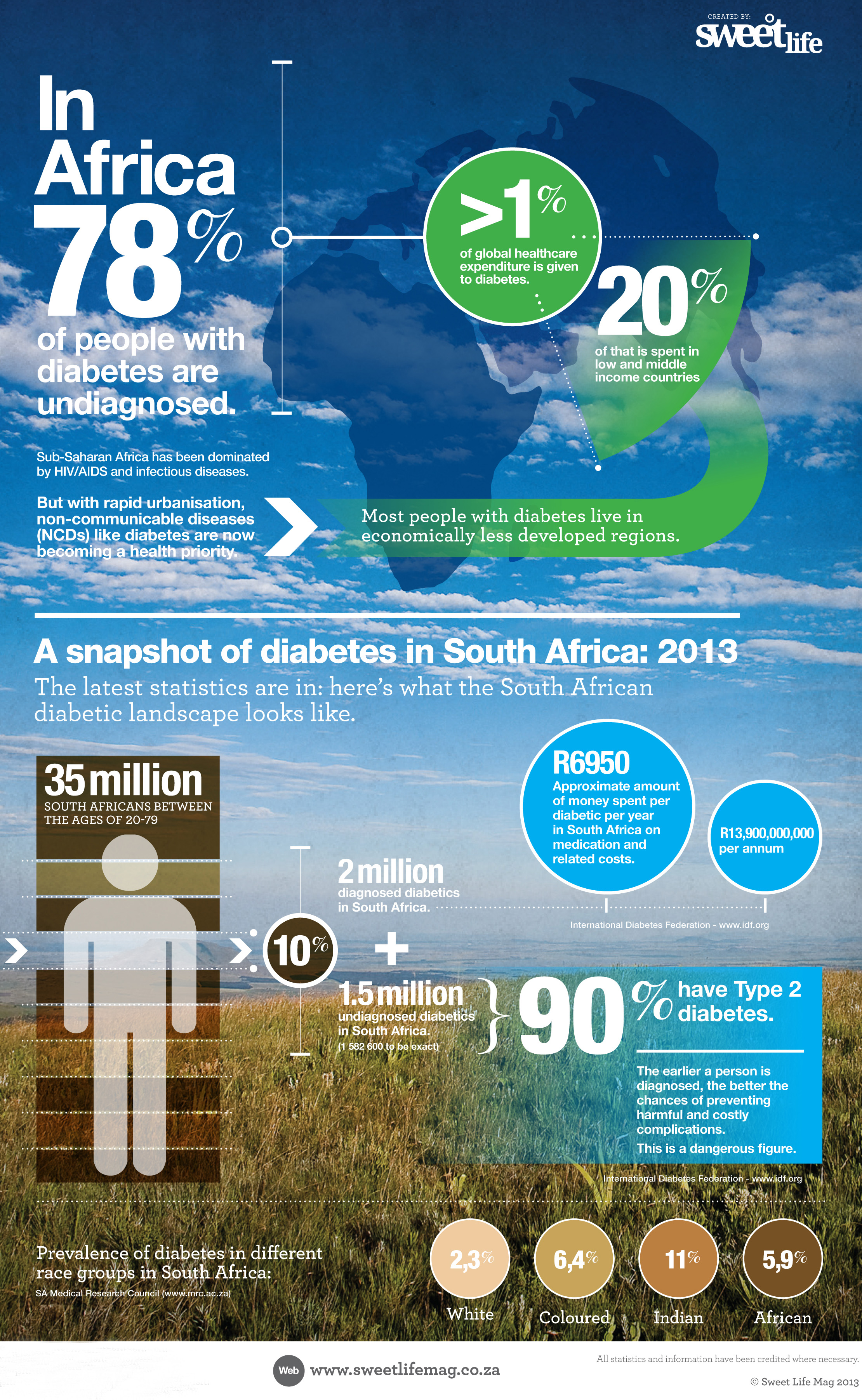 A snapshot of diabetes in South Africa