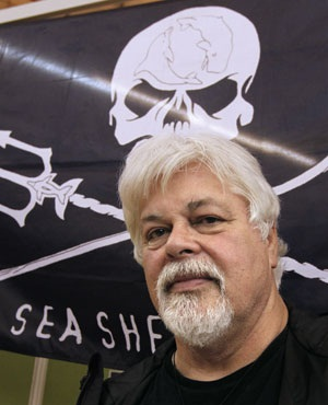 Canadian environmental activist Paul Watson, founder and president of the Sea Shepherd Conservation Society, posing prior to a press conference. (Francois Guillot, AFP)
