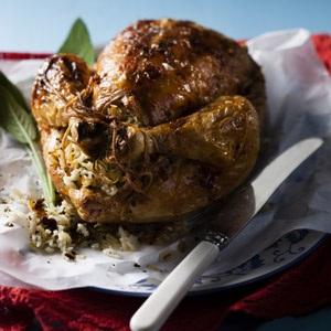 recipes festive chicken roast