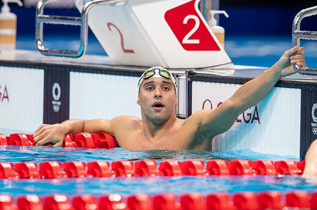 South African swimmer Chad le Clos