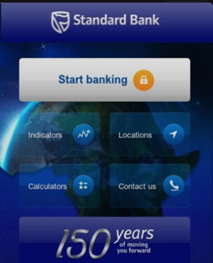 The Standard Bank app is available for the Windows Phone platform. (Duncan Alfreds, News24)