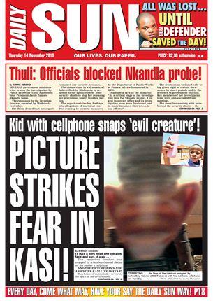 Newspaper headlines, 14 November | News24