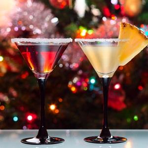 festive, cocktails, christmas