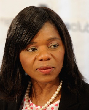 Public Protector Thuli Madonsela speaks about her provisional report on security upgrades to President Jacob Zuma's Nkandla homestead. (Werner Beukes, Sapa)