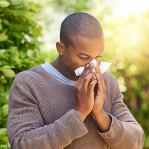 People tend to suffer from hay fever when the seasons change.