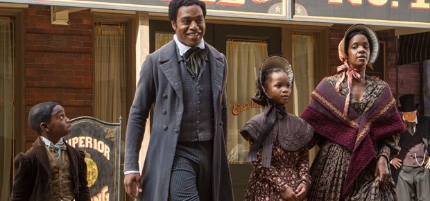 Chiwetel Ejiofor is a scene from 12 Years a Slave. (Regency Enterprises)