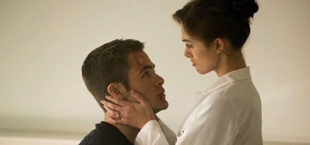 Keira Knightley and Chris Pine in Jack Ryan: Shadow Recruit (Paramount Pictures)