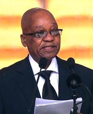 President Jacob Zuma (Picture: AFP)