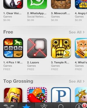 Apple App Store. (Duncan Alfreds, News24)