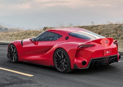 <b> A HINT AT FUTURE TOYOTAS:</b> Toyota's FT-1 concept hints at the design of future vehicles from the Japanese automaker, which it claims will be more stylish and 'fun to drive'. <i>Image: TOYOTA</i>