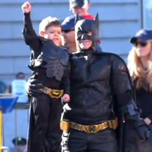 The amazing Batkid!