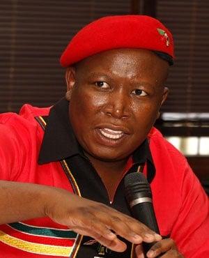 Julius Malema (Picture: Sapa)