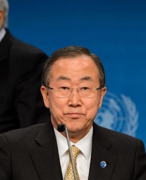 UN Secretary General Ban Ki-Moon. (Fabrice Coffrini, AFP)