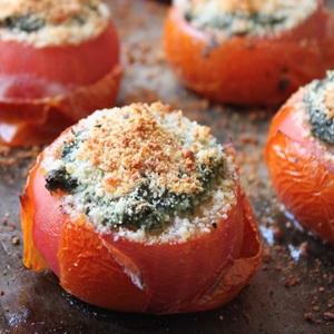 recipes baking tomatoes vegetarian roast