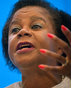 Mamphela Ramphele. Picture: Rodger Bosch/ AFP