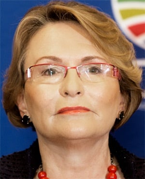 DA leader Helen Zille addresses a media conference in which she discussed the party's failed agreement with Agang SA leader Mamphela Ramphele. (Marco Longari, AFP)