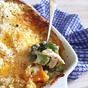 recipes chicken baking vegetables