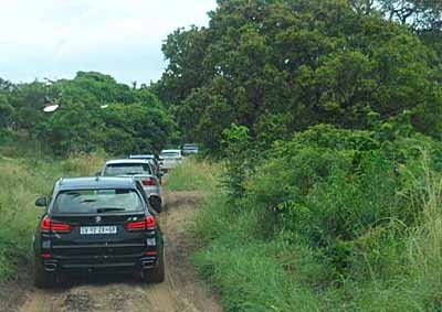 <b>GOING BUSH IN MOZ:</b> BMW launched its third-generation BMW X5 SAV range over a route through northern KZN and into Mozambique with an overnight at the awesome Indian Ocean resort of Ponta Mamoli. <i>Image: LES STEPHENSON</i>