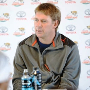 Hawies Fourie during his days as Cheetahs backline coach (Gallo Images)