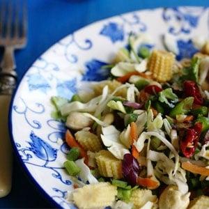 recipes salads healthy vegetarian asian