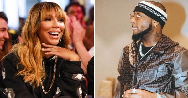 tamar braxton and davido