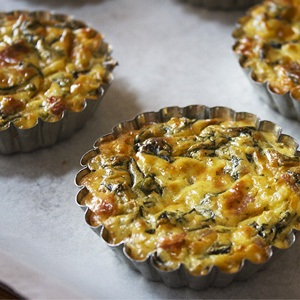 spinach bacon quiches recipes healthy