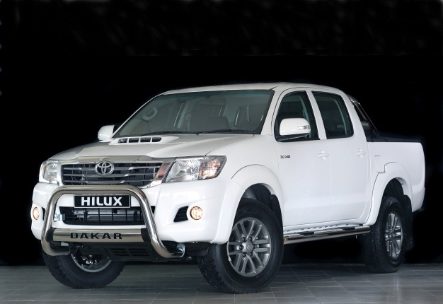 Dakar Styled Hilux Returns To Sa Wheels24