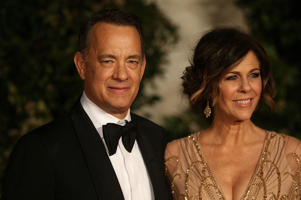 Tom en Rita. Foto: Chris Jackson/Getty Images