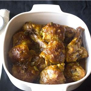 recipes chicken curry roast