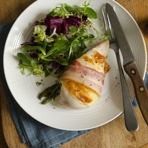recipes chicken breast stuffed bacon