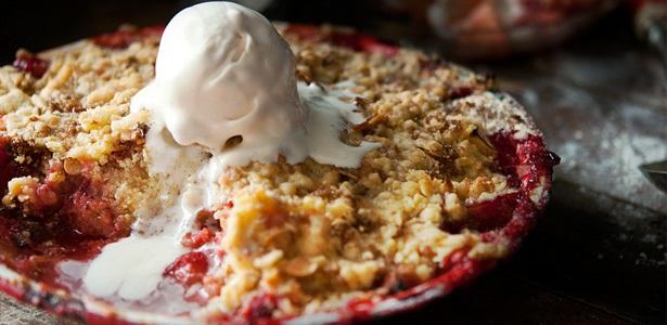 recipes baking crumble berries
