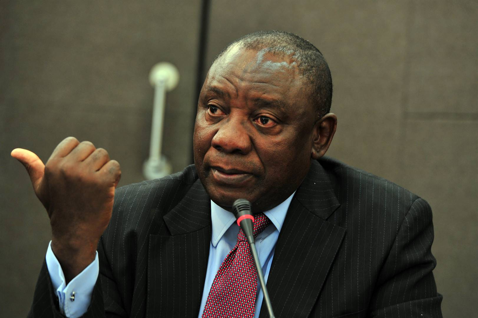 Pieter du Toit: Cyril Ramaphosa is a reluctant president and afraid to lead