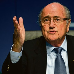 Sepp Blatter is expected to be re-elected. Picture: Getty Images