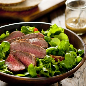 recipes salads steak mushrooms healthy
