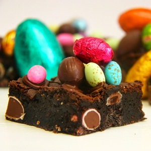 recipes, chocolate brownies, chocolate easter eggs