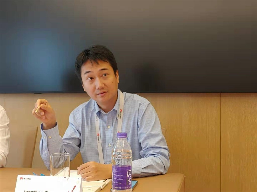 Huawei's Head of Software Marketing Jonathon Zhang