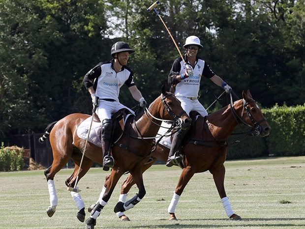 The Duke of Sussex Prince Harry and Nacho Figueras