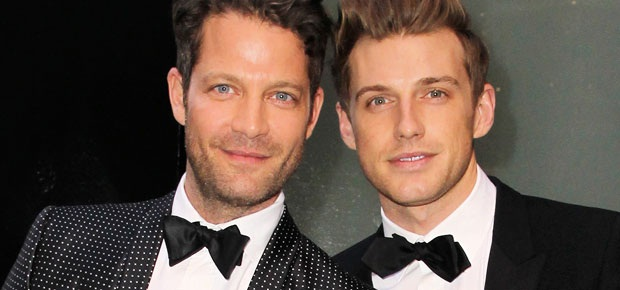 nate berkus and his boyfriend make the cutest couple. Black Bedroom Furniture Sets. Home Design Ideas
