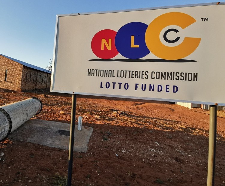 The National Lotteries Commission has funded three projects in Kuruman. (Raymond Joseph, GroundUp)