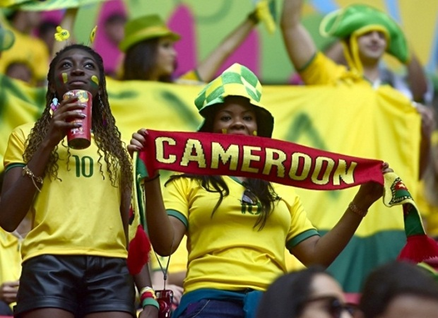 Cameroon fans (Supplied)