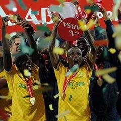 Mamelodi Sundowns 2013/14 PSL champions